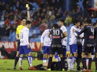 Zaragoza - Huesca. Partido zaragoza- Huesca