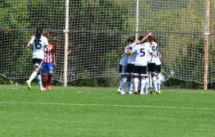 El Valencia se adelantó ante el At. Madrid Féminas.