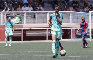 Con su gol ante el Levante, Jenni Hermoso suma 35 tantos y finaliza la competición como máxima goleadora.