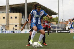 Eli del Estal marcó los dos goles de la victoria perica.