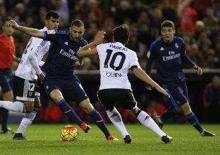 Valencia - R. Madrid de la temporada 2015/16
