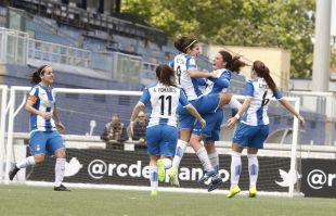 El Espanyol sumó una importantísima victoria ante el Sporting Huelva, que le mantiene lejos de los puestos de descenso.