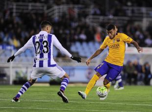 R. Sociedad - FC Barcelona. PARTIDO