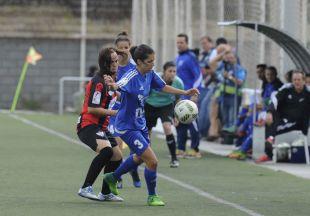 El UD Tacuense se despidió de la Liga Femenina Iberdrola con una derrota ante el Sporting Huelva.