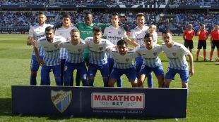 Málaga - Espanyol. Partido de Liga
