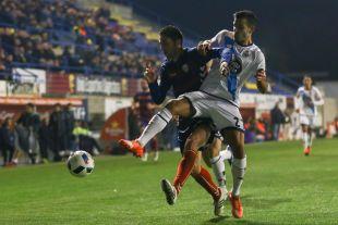 Llagostera - Deportivo.