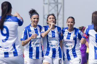 Gabi adelantó al Sporting Huelva.