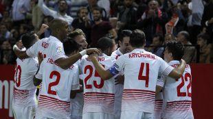 El Sevilla se coloca décimo tras su victoria ante el Real Madrid