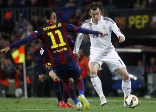 Neymar desbarató a la zaga visitante en varias ocasiones