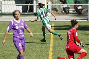 Beita celebra el gol del empate a uno del R. Betis ante el Granadilla.