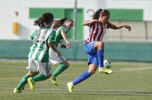 Andrea Falcón abrió el marcador en Sevilla.