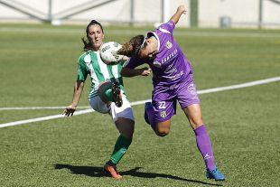 Un lance del partido disputado entre el R. Betis y el Granadilla Egatesa.