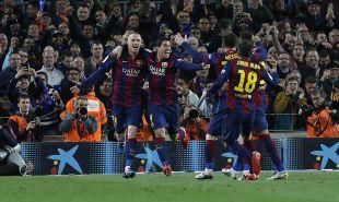 Jeremy Mathieu abrió el marcador del Camp Nou
