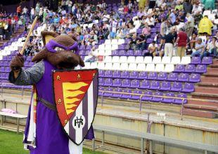 Pepe Zorrillo es el encargado de animar al Valladolid
