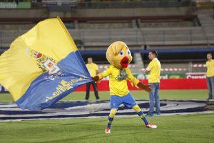 Pío pío, la mascota de la UD Las Palmas
