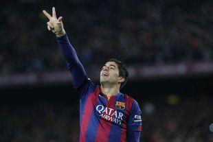 Luis Suárez marcó el segundo tanto de los azulgranas