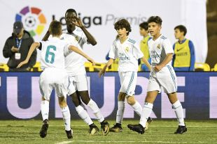 XXII Torneo Internacional LaLiga Promises Arona - Jornada 1. Partido Real Madrid - Inter de MIlan