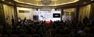 Vista general de la sala durante la entrega de premios