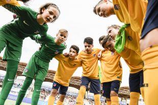 XXII Torneo Internacional LaLiga Promises Arona - Jornada 3. Partido Fc Barcelona Atletico de Madrid