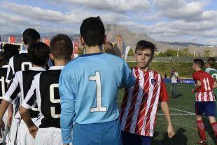 XXII Torneo Internacional LaLiga Promises Arona - Jornada 1. Partido Atletico de Madrid - Juventus
