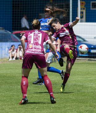 Playoff Ascenso Liga Iberdrola 2018 - R. Oviedo Moderno - EDF Logroño. Real Oviedo Moderno - EDF Logroño