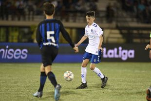 XXII Torneo Internacional LaLiga Promises Arona - Jornada 3. Partido Tenerife - Inter de Milan Consolación