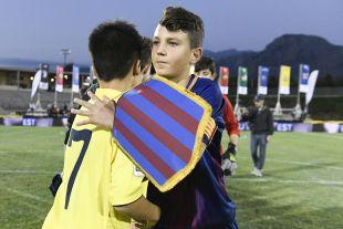 XXII Torneo Internacional LaLiga Promises Arona - Jornada 1. Partido Fc Barcelona - Villarreal