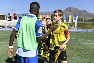 XXII Torneo Internacional LaLiga Promises Arona - Jornada 1. Partido Borussia - RCD Espanyol