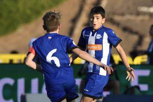XXII Torneo Internacional LaLiga Promises Arona - Jornada 1. Partido As Roma - D Alaves