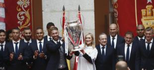 Otros eventos 2016-17 - 20170603 Celebraciones Champions Real Madrid.  Recepción Comunidad de Madrid