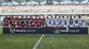 LaLiga Legends Polonia 2017 - Partido Leyendas de Polonia vs LaLiga Legends.