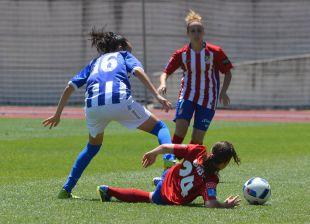 Copa de la Reina 2016 - 1/4 - At. Madrid Féminas - Sporting Huelva.