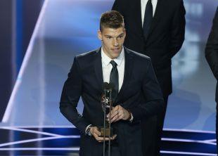 Isaac Becerra (R. Valladolid) logró el galardón a 'Mejor Portero de LaLiga 1l2l3' por su actuación la pasada campaña en el Girona FC