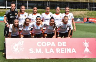 Copa de la Reina 2017 - FC Barcelona vs VCF Femenino.