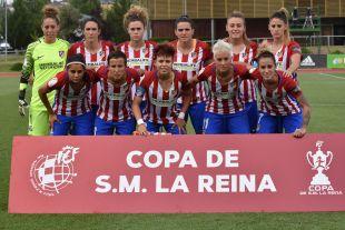Copa de la Reina 2017 - Atl. Madrid Femenino vs Granadilla Egatesa.