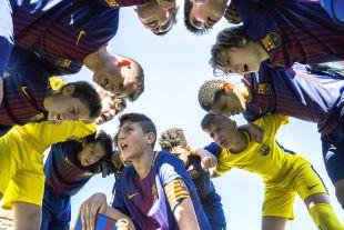 XXII Torneo Internacional LaLiga Promises Arona - Jornada 1. Partido Fc Barcelona - D Alaves