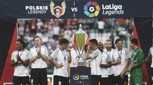 LaLiga Legends Polonia 2017 - Partido Leyendas de Polonia vs LaLiga Legends.