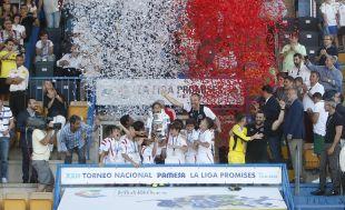 El Sevilla levantó la copa en el XXII Torneo Nacional LaLiga Promises
