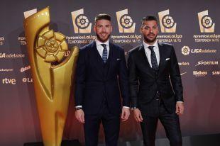Sergio Ramos, junto a su hermano René