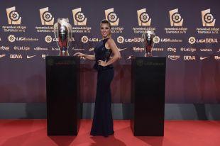 Gisela Lladó no quiso perderse la Gala #PremiosLaLiga