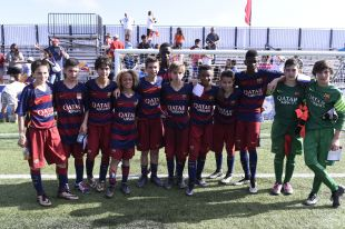 XX Torneo internacional LaLiga Promises Miami - Segunda jornada de competición. Barça - Celta CUARTOS