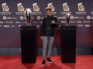 Carlos Baute amenizó la Gala #PremiosLaLiga