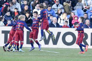 ÍscarCup 2016 LaLiga Promises - Segunda jornada de competición. Partido Barcelona - Levante Semis