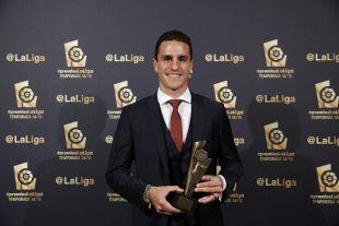 Bernardo (R. Sporting), 'Mejor Defensa de la Liga Adelante 2014/15'