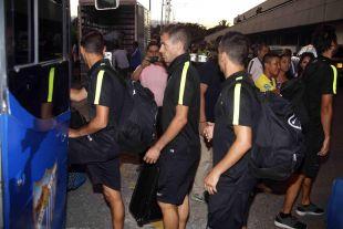 Los jugadores malaguistas jugarán este domingo ante el Deportivo Cali en la primera parada de la Gira LFP World Challenge.