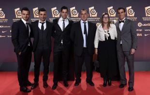 Delegación de la UE Llagostera, en #PremiosLaLiga
