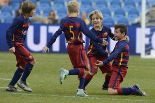 ÍscarCup 2016 LaLiga Promises - Segunda jornada de competición. Partido Barcelona - Villarreal