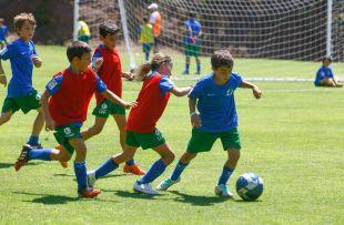 El fútbol volvió a unir a los participantes del Campus
