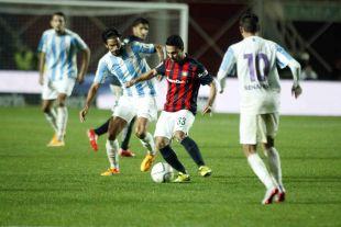 El Málaga se mostró también muy sólido en la faceta defensiva