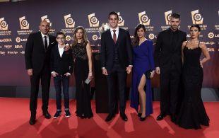 El Sporting llenó de glamour la alfombra roja de los #PremiosLaLiga